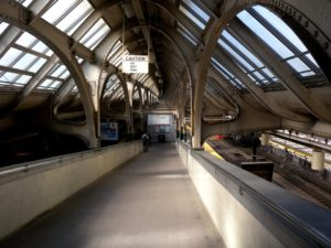 Train station in Newark