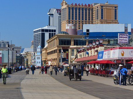 Atlantic City is the Gambling Capital of the East Coast