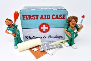 a first aid kit you'll need if you try to move without the help of moving companies NJ