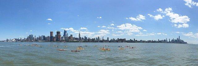 New York City panoramic view.
