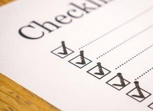 Checklist represents good organization of relocation