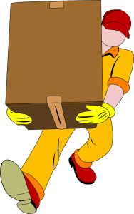 Picture of a moving company worker