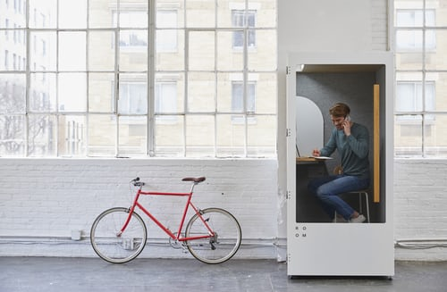 You have to be creative when it comes to setting up your office in your apartment on a budget