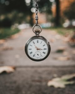 Packing guide for seniors- a pocket watch