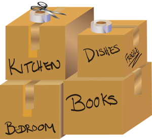 Pack your house in one day step by step.
