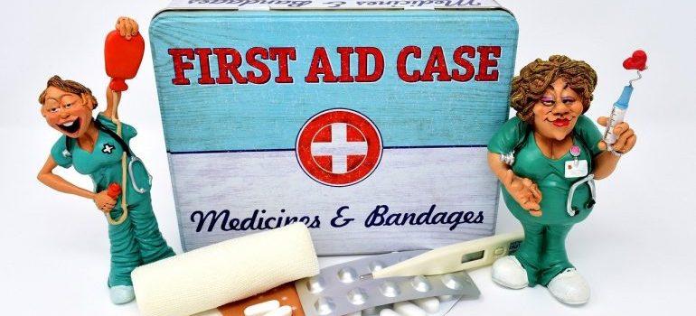 a first aid kid