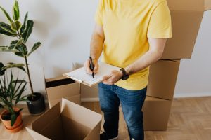 One of the Lakewood movers is making a plan