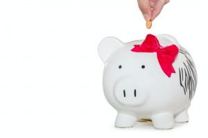 Piggy bank- decorating your New Jersey home on a budget