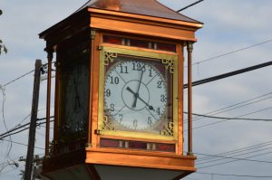 A clock in New Jersey