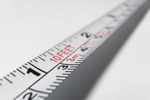 a measuring tape you will use before renting a moving truck for a long-distance move