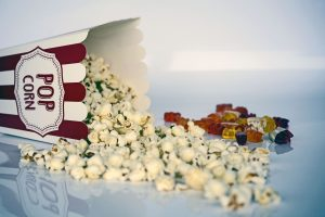 popcorn you will eat when watching movies as one of the Fun things to do in Kearny