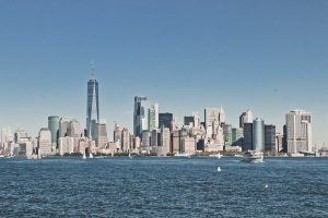 a panoramic view of New Jersey in which one can find North Bergen for young professionals