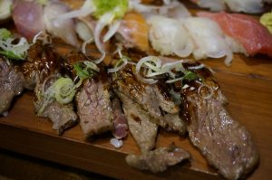 rib eye stake as a part of NJ for foodies guide