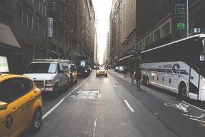 a street in city